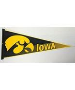 "University of Iowa Hawkeyes NCAA College Felt 30"" Pennant VTG Sports Mem... - $33.87"