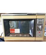 Vintage Sharp Microwave Oven R- 6460 Kitchen yellow Works Movie Prop 197... - $445.50