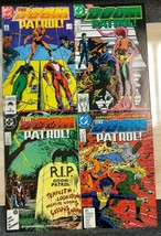 DOOM PATROL lot of (4) issues #3 #4 #5 #6 (1987/1988) DC Comics VG+/FINE- - $9.89