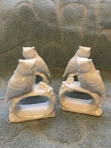 "Ardalt Japan 4 Owl Napkin Holders-great Condition-3"" - $25.00"