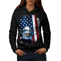Eagle Cowboy Hat Flag USA Sweatshirt Hoody Eagle Flag Women Hoodie - $21.99+
