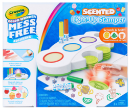 Crayola Color Wonder Light Up Stamper with Scented Inks Gift for Kids Ages 3-6