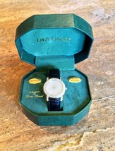 """""""DUFONTE BY LUCIEN PICCARD"""" CRYSTAL BRACELET WATCH GORGEOUS!!! - $32.95"""