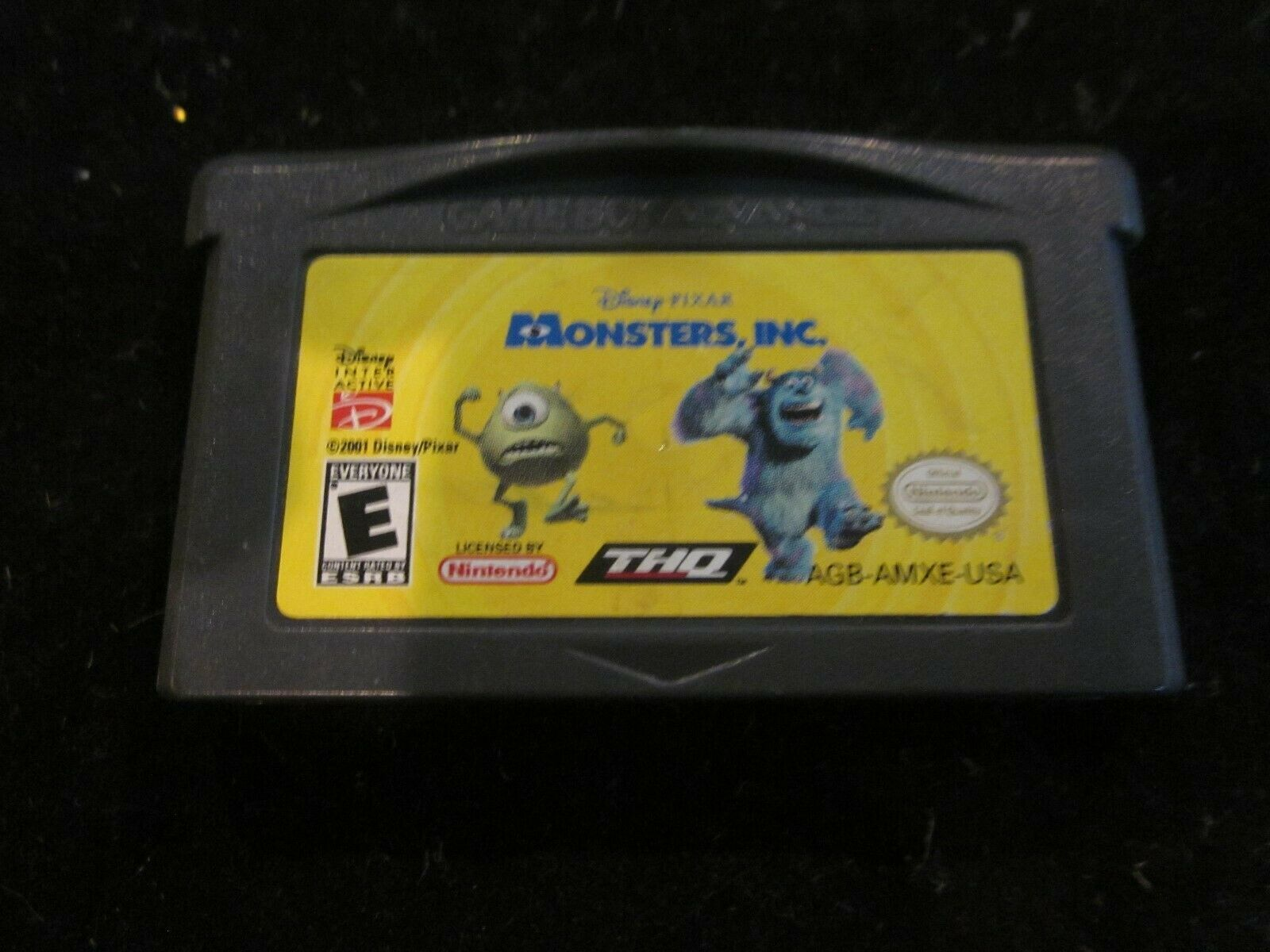 NINTENDO GAMEBOY GAME BOY ADVANCE MONSTERS INC GAME CARTRIDGE PRE-OWNED