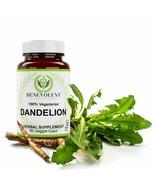 Benevolent Dandelion Herbal Health Supplement 100% VEGETARIAN 89 CAPSULES - $4.94