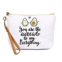Avocado cosmetic bag  - $25.95