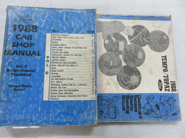 1988 Ford Tempo Topaz Escort Service Repair Manual OEM Factory Dealer Sh... - $4.04