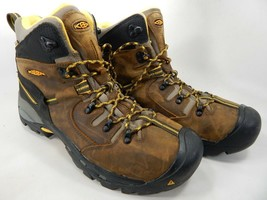 "Keen Pittsburgh 6"" Size US 13 M (D) EU 47 Men's WP Steel Toe Work Boots 1007025"