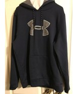 Under Armour Cold Gear Men's Sweatshirt Hoodie Navy Blue L Large - $24.99