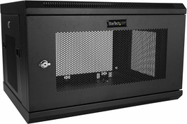 "StarTech.com 6U Wall Mount Server Rack Cabinet  2-Post Upto 15"" Deep, RK616WALM - $193.99"