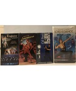 Lot Of 4 VHS Explosive Dancing/. How To Lambada/ Cal Pozo's/ Lord Of The... - $9.50