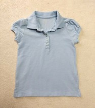 Girl's Children's Place Light Blue Collared Shirt Top Size Small 5/6 - $5.00