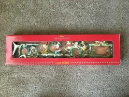 Disney Store Candy Cane Christmas 2000 Train Frame Set Mickey Mouse 4 Frames NIB - $37.57