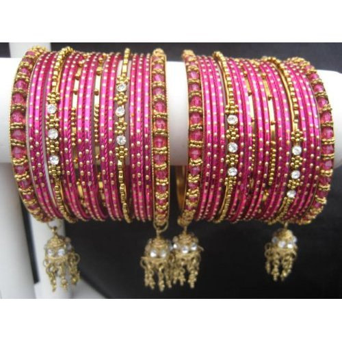 Primary image for Orion: Dark Pink Indian Bangles (Small 2.6) BangleEmporium