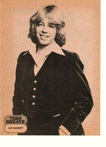 Leif Garrett teen magazine pinup clipping teen greats Teen Beat  70's - $2.50
