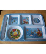 Disney Winnie the Pooh and Friends Melamine Children's Christmas Tray - $18.00