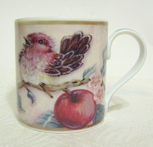 Valerie Pfeiffer Bird Duo Mug L. Strecko Cherry Blossoms 2000 - $26.72