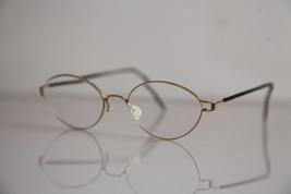 Eyewear,  Gold Frame,  Brown RX-Able  Prescription Lenses. - $25.25