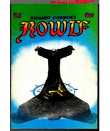 Rowlf, Rip Off Press 1971, Richard Corben, underground comix, 1st printing - $22.00