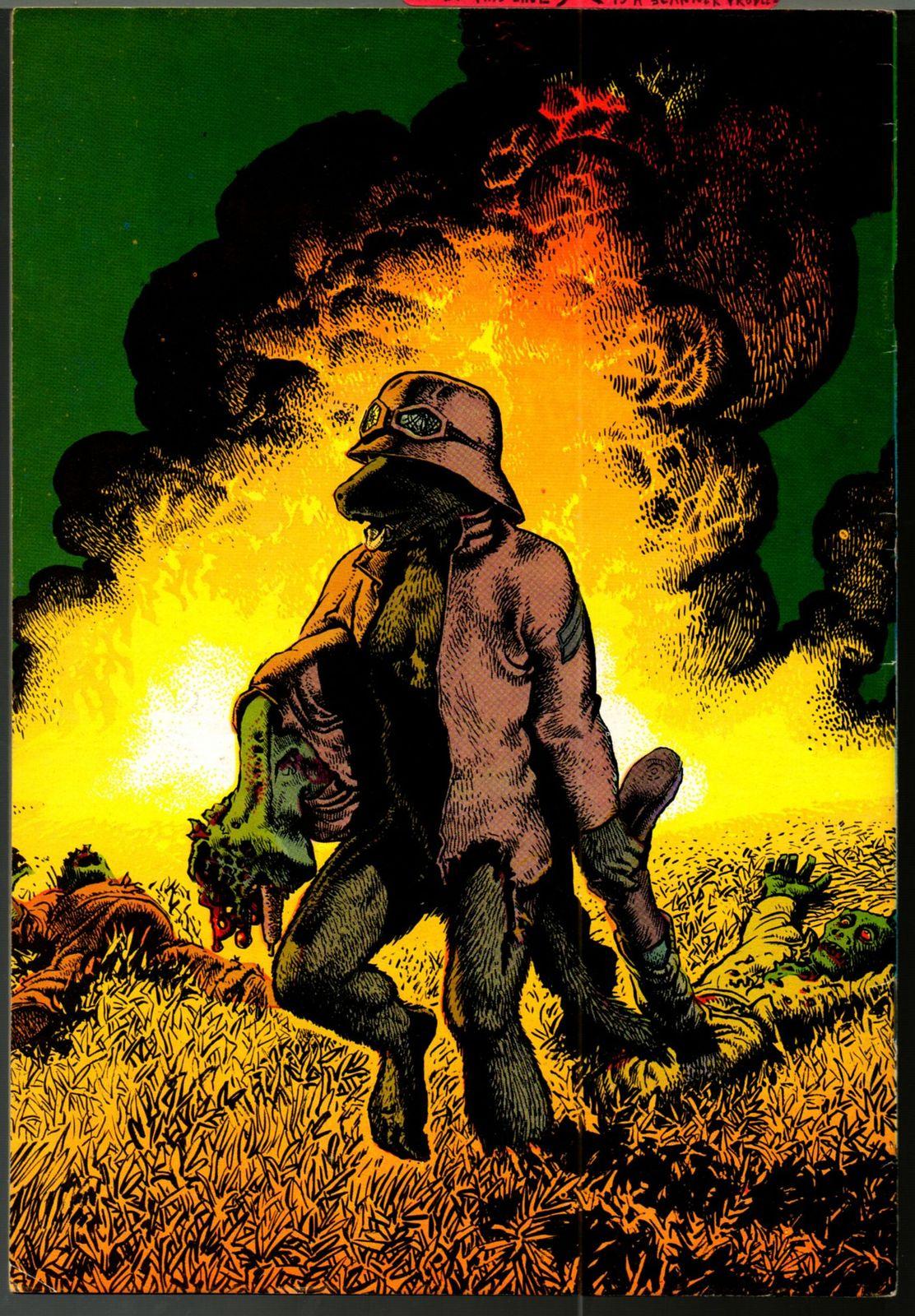 Rowlf, Rip Off Press 1971, Richard Corben, underground comix, 1st printing