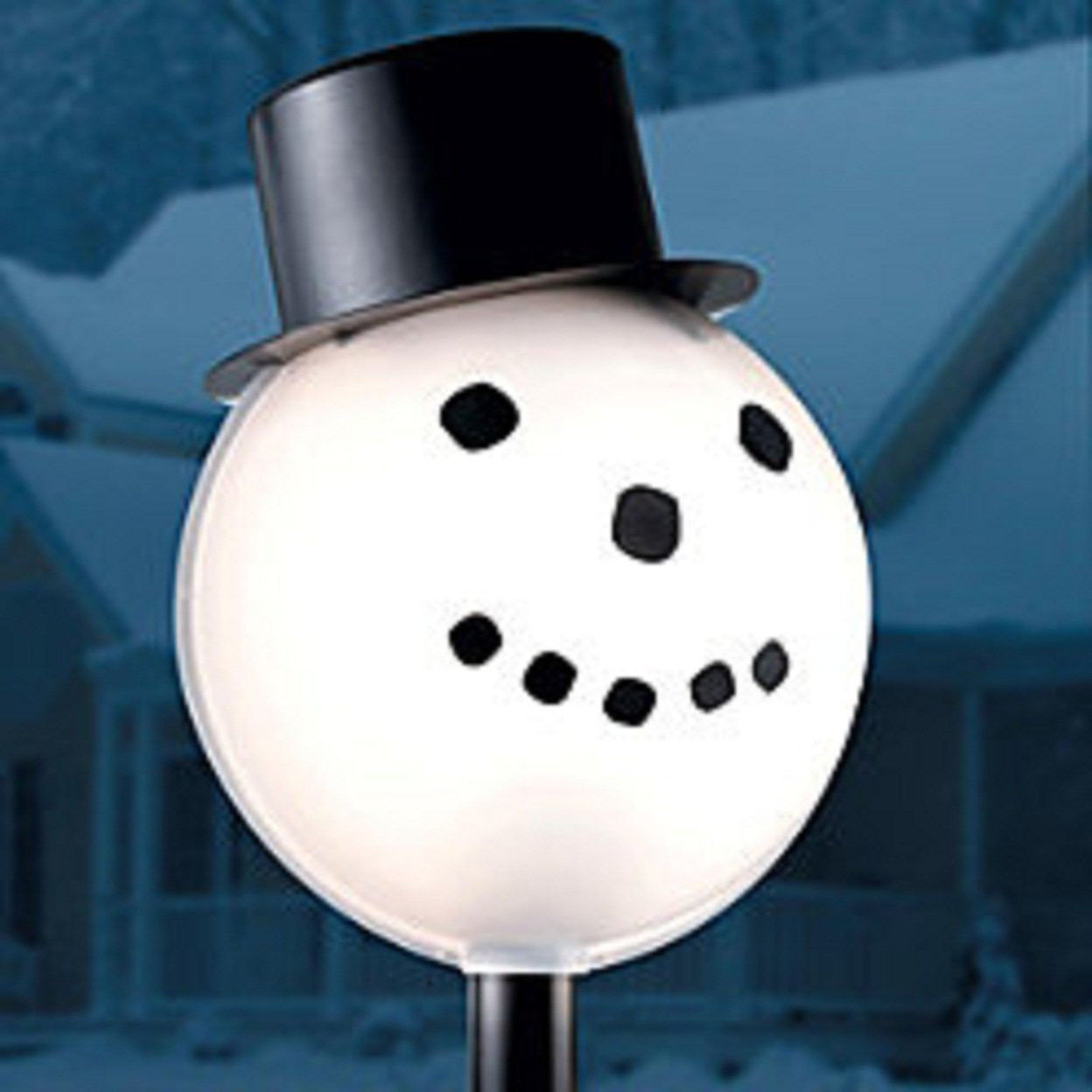 Branded Christmas Outdoor Porch Light Cover Festive Snowman Holiday Decoration NEW. Sold by sunnyshop an eBay Marketplace seller. $ $ Trimming Traditions 6' Lighted Inflatable Snowman. Sold by Sears. $ $ National Tree Company 50 Bulb Outdoor Soft White C7 Diamond Cap LED w/ Plastic Cover Illuminate Light Set.