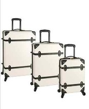 3 Piece Spinner Luggage Set Stylish Travel Vacation Bag HardShell Sturdy... - $665.67