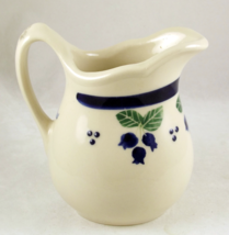 Hartstone Pottery Blueberry design creamer milk... - $10.00