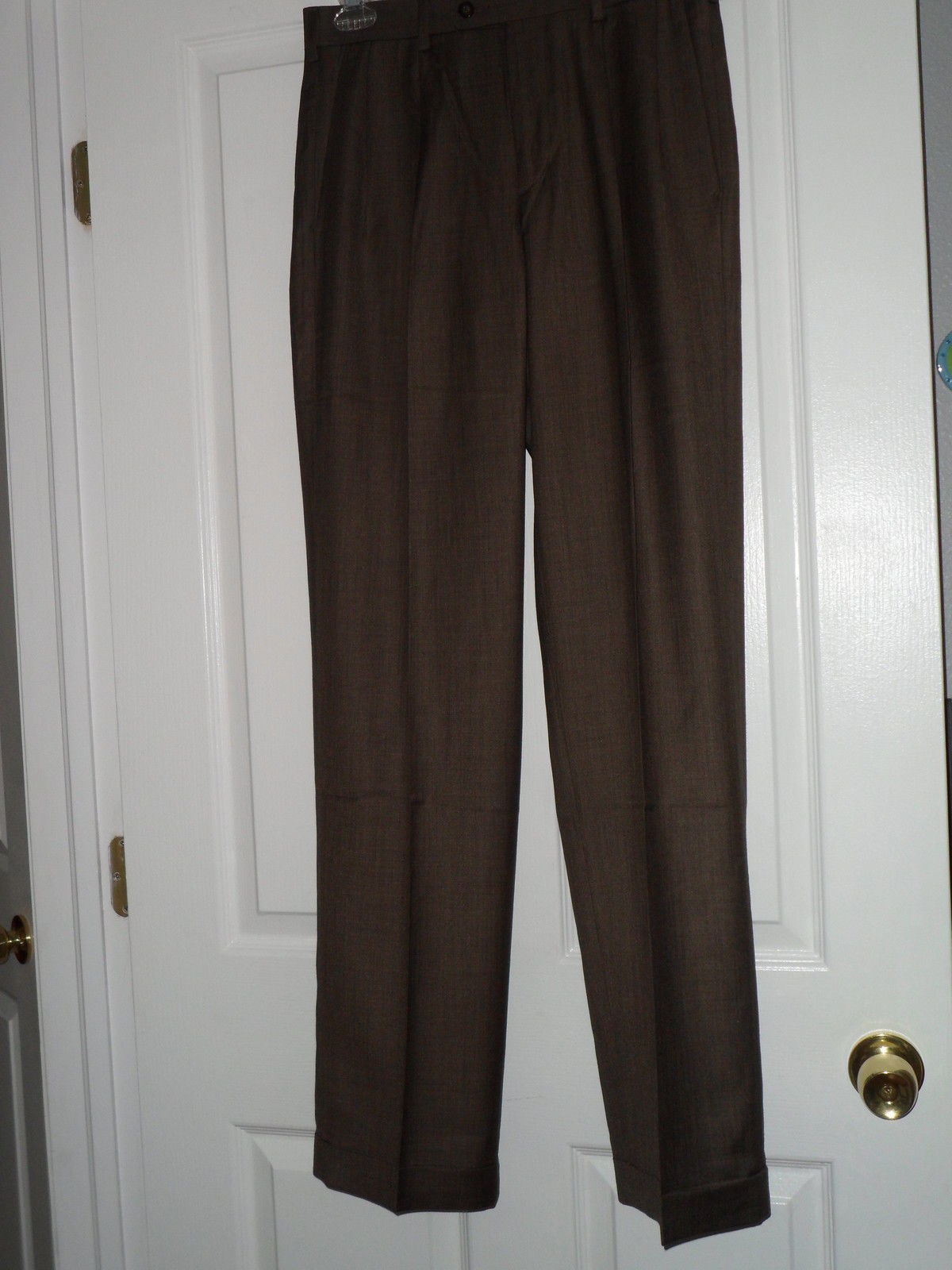 Axist Mens Dress Pants Size 30 X 34 Brown and 14 similar items