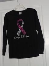 Gildan Knit Top Shirt Size S  Dark Blue  Print  Nwt  - $14.79