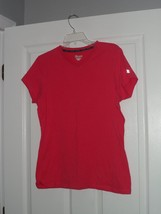 CHAMPION WORKOUT T- SHIRT SIZE M STRETCH PINK  NWT  - $14.79