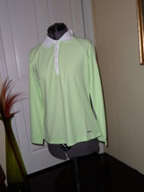 Fila Performa Shirt Size L Mint Green Long Sleeves Tennis Golf Nwt  - $20.49