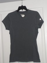 CHAMPION WORKOUT T SHIRT SIZE S STRETCH GRAY  NWT  - $15.99