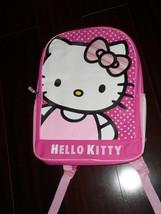 Saniro Hello Kitty Backpack Book Bag Pink New - $17.93