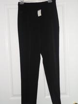 Jm Collection Pants Size 8P Dress Black Nwt - $19.47