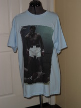 Alstyle Mens Graphic T Shirt Size L Muhammad Ali Blue Nwt - $15.79
