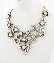 J. Crew Crystal Floral Statement Necklace - $267.30
