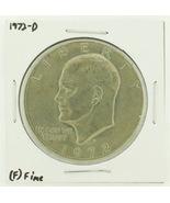 1972-D Eisenhower Dollar RATING: (F) Fine N2-2961-09 - $2.00