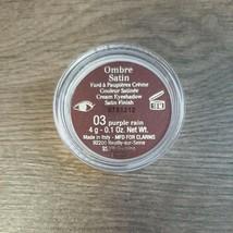 Clarins Ombre Satin Eyeshadow 03 Purple Rain 0.1oz Full Size NWOB - $21.99