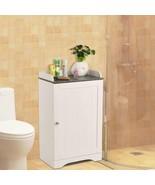 Wooden Free Standing Bathroom Storage Cabinet Bath Organiser Modern Deco... - $80.99