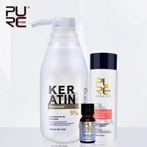 Brazilian Keratin Treatment Straightening Hair 5% Formalin Eliminate Frizz Argan - $32.62