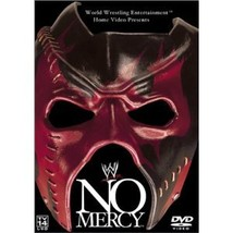 WWE No Mercy 2002 Pre-viewed DVD WWE Austin Jericho Rock oop out of print