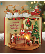 Lighted Night Before Christmas Tabletop Figurine - $22.85
