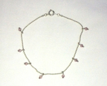 Silver tone bracelet with pink beads updated pic thumb155 crop