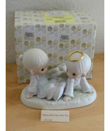 """1997 Precious Moments """"Heaven Must Have Sent You"""" Figurine  - $40.00"""