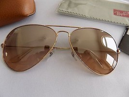 Ray Ban RB3025 Aviator Sunglasses-001/58 Gold Gold-58m - $144.95