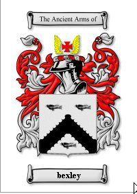 BEXLEY SURNAME COAT OF ARMS PRINT - GENEALOGY Bonanza