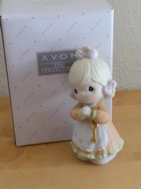 """1998 Precious Moments Avon Exclusive """"Love Is The Key"""" Figurine  - $30.00"""