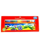 Faber-Castell  25 Erasable Plastic Crayons  Assorted Shades   70 mm each - $11.95
