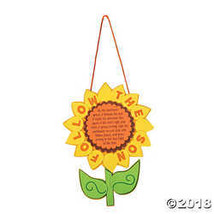 ¡°Follow the Sun¡± Sunflower Sign Craft Kit - $11.49