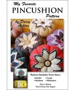My Favorite Pincushion Sewing Pattern -- Wool Pincushion Pattern - $10.55